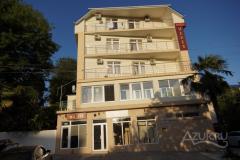Вид гостиницы с ул. Волжская