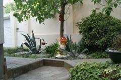Ландшафтный дизайн во внутреннем дворе