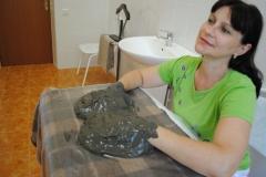 Процедура грязелечения