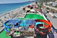 Пляж и аквапарк в Горном Воздухе