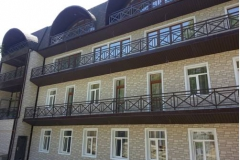 Грин клаб здание отеля
