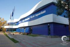 Здание океанариума