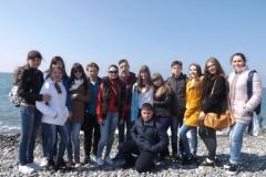 Группа Ртищево на Олимпийской набережной
