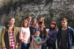 Группа из Одинцово по дороге на Красную Поляну