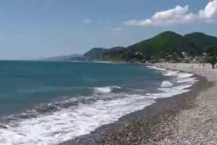 пляж в Головинке